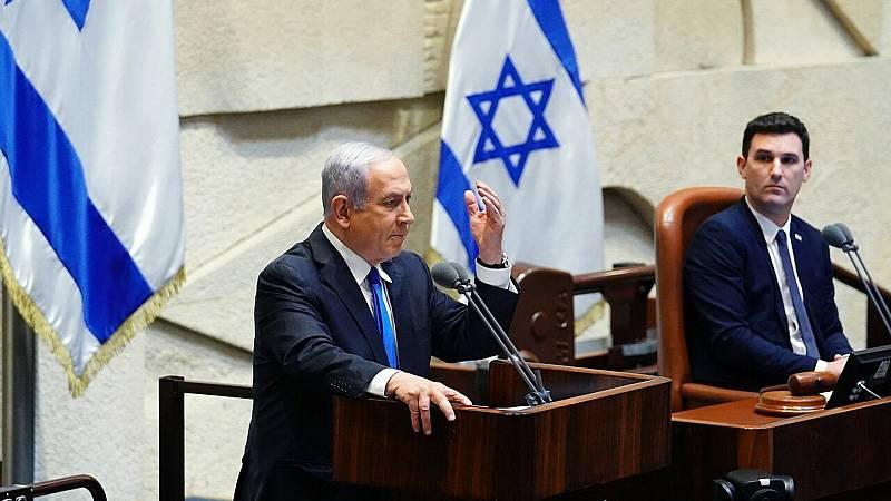 14 horas fin de semana -  Benjamín Netanyahu y el centrista Beny Gantz se alternarán como primeros ministros en Israel - Escuchar ahora