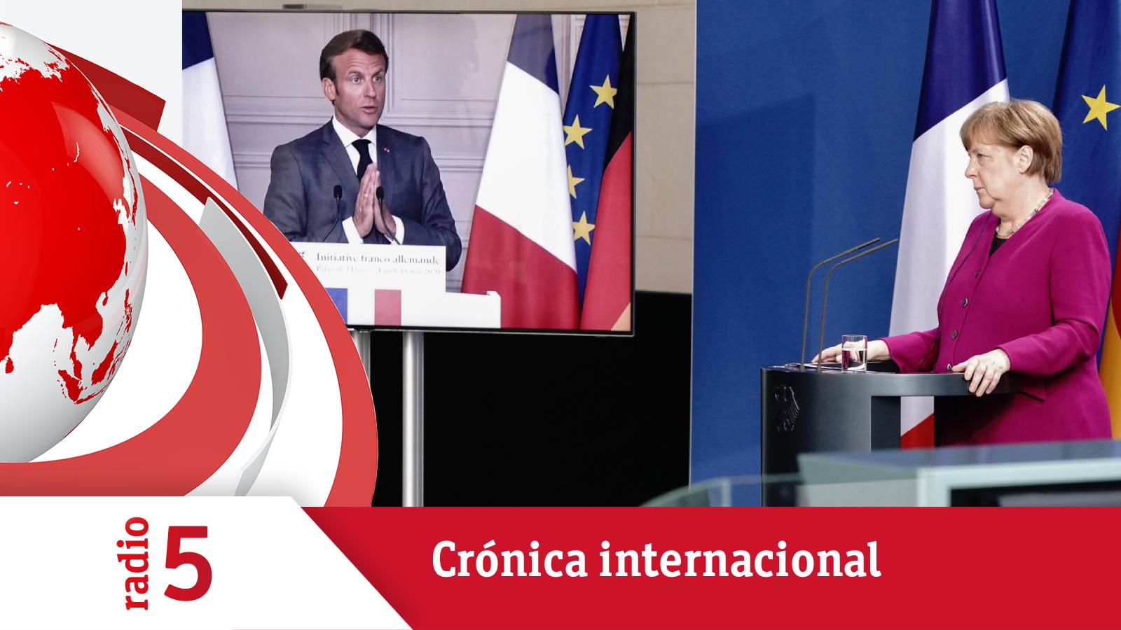 Todo noticias mañana - Crónica internacional - El plan de Merkel y Macron busca apoyos en la UE - Escuchar ahora