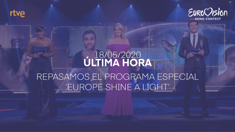 Repasamos la gala 'Europe Shine a Light'