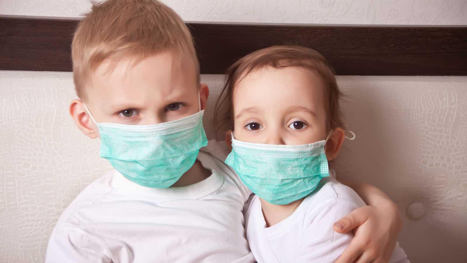 Las mañanas de RNE con Íñigo Alfonso - Los pediatras dicen que las mascarillas en menores de dos años están contraindicadas - Escuchar ahora