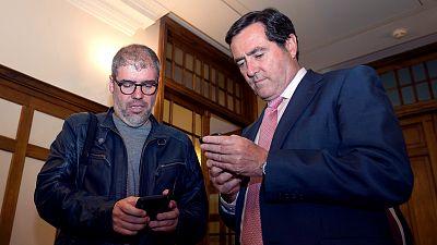Boletines RNE - CEOE Y Cepyme consideran un desprecio al diálogo social el acuerdo PSOE-Podemos-EH Bildu - Escuchar ahora
