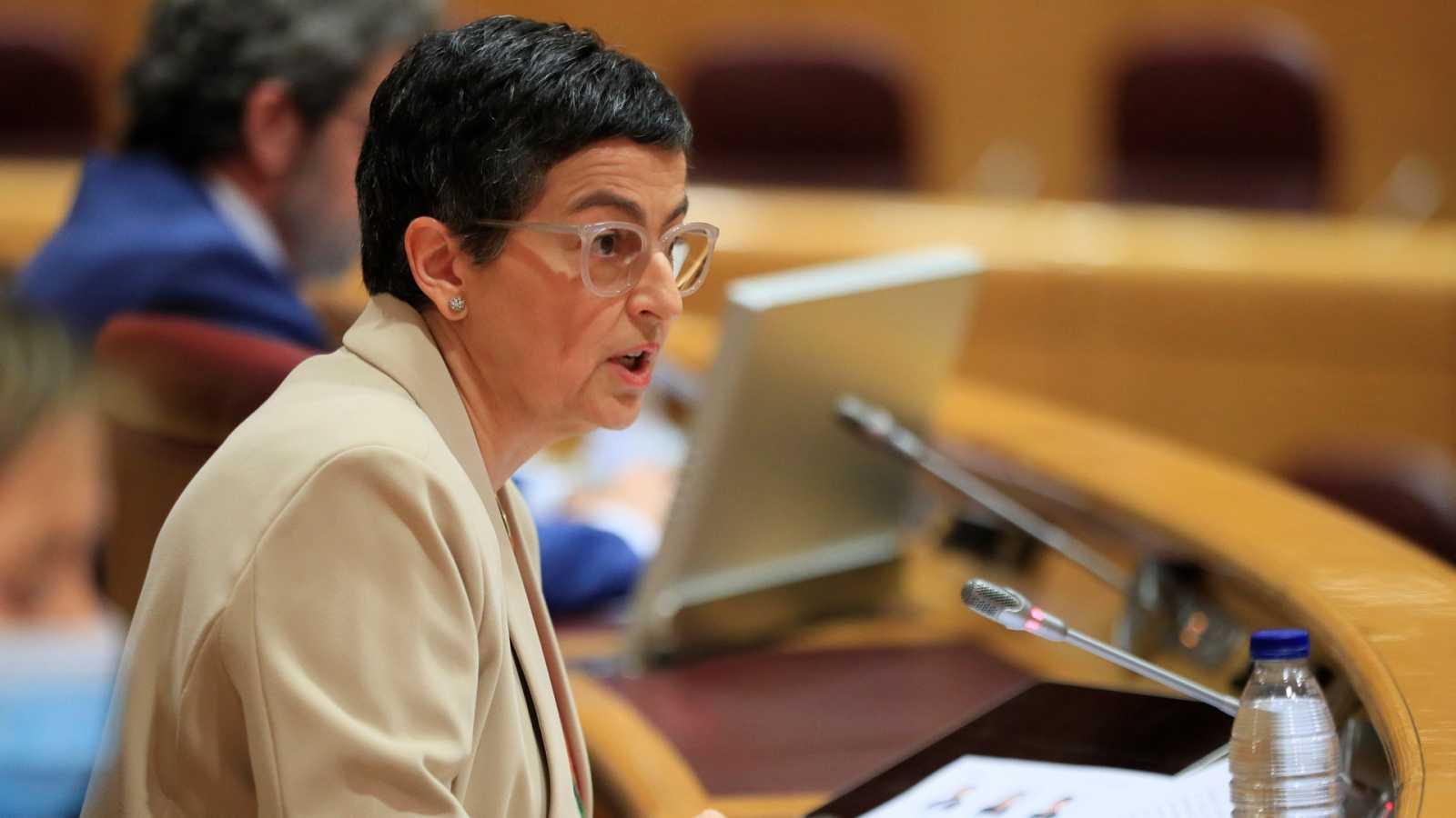 Boletines RNE - González Laya pide más recursos para el Ministerio de Exteriores - Escuchar ahora