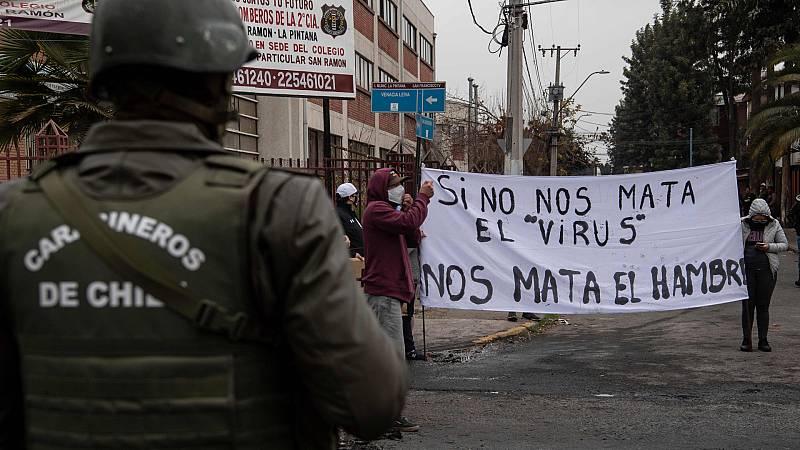 Cinco Continentes - En Chile, la pandemia agudiza las desigualdades