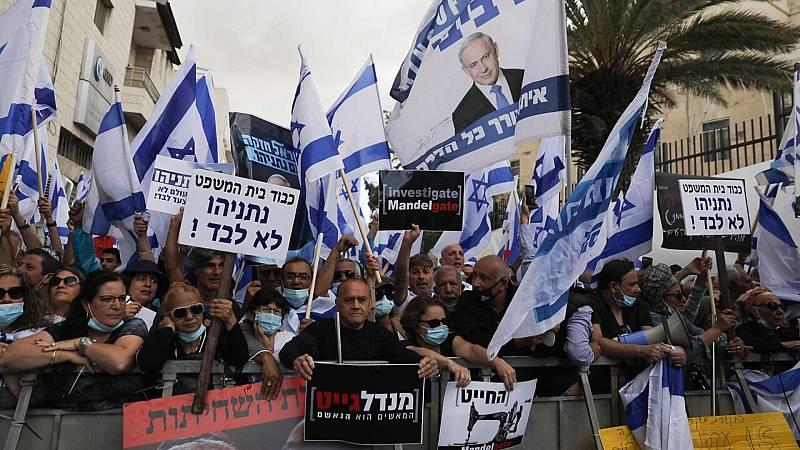 14 horas fin de semana - Manifestaciones a favor y en contra por el juicio a Netanyahu - Escuchar ahora