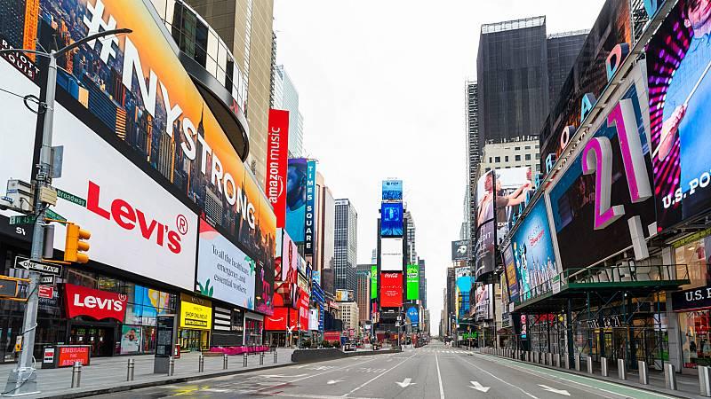 Las mañanas de RNE con Íñigo Alfonso - Nueva York: una ciudad insomne adormecida por el coronavirus - Escuchar ahora