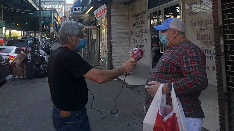 Las mañanas de RNE con Íñigo Alfonso - El Bronx, epicentro del coronavirus en Nueva York - Escuchar ahora