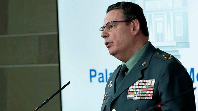 Boletines RNE - Dimite el número dos de la Guardia Civil tras la destitución del coronel Pérez de los Cobos - Escuchar ahora