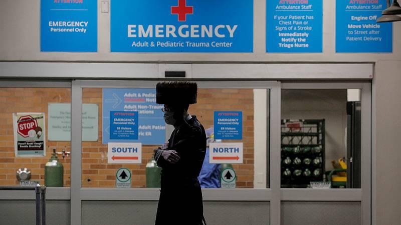 Las mañanas de RNE con Íñigo Alfonso - La pandemia en el hospital de Bellevue de Brooklyn, el centro público más antiguo de Nueva York - Escuchar ahora