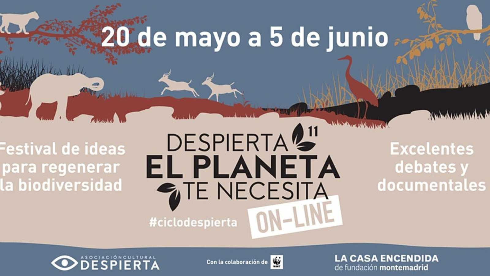 De cine - 'Despierta, el planeta te necesita 2020', en La Casa Encendida - 27/05/20 - Escuchar ahora