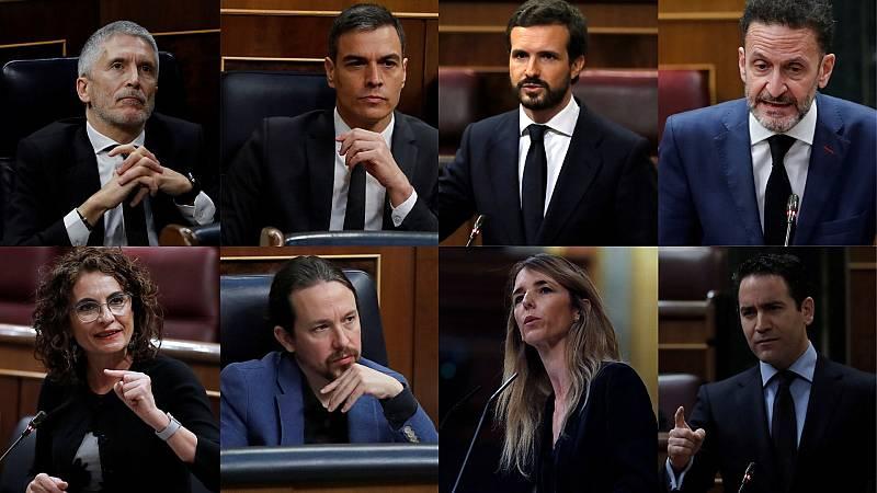 24 horas - Álvarez de Toledo, Iglesias, Casado y Marlaska protagonizan la sesión más bronca del estado de alarma - Escuchar ahor