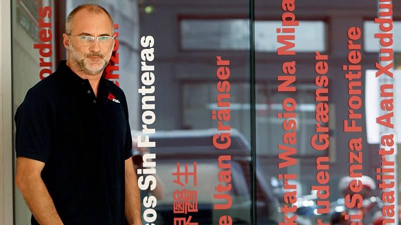 David Noguera, president de Metges sense Fronteres a Espanya