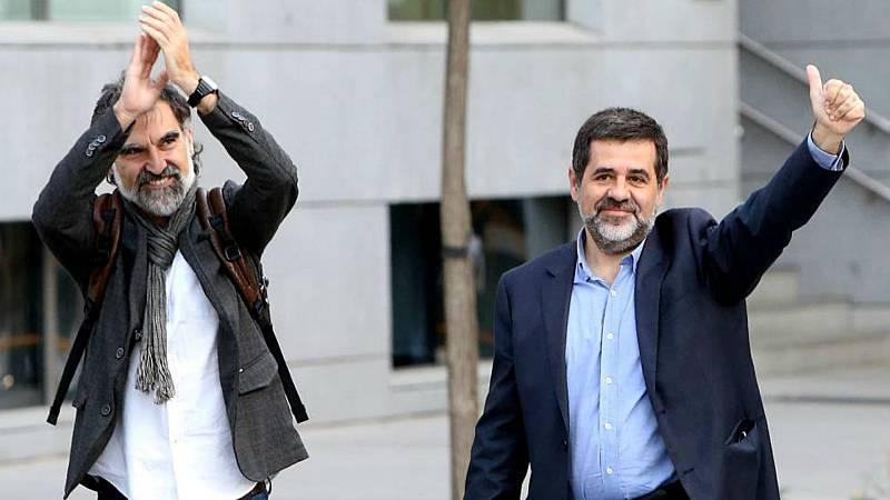 Boletines RNE - Varios partidos entre ellos Unidas Podemos piden la libertad de los Jordis - Escuchar ahora