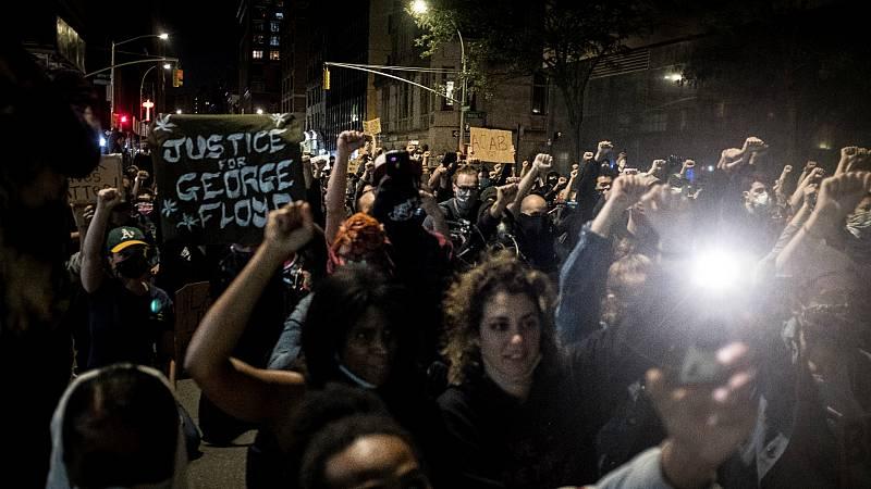 """14 horas - """"No puedo respirar"""": el grito de indignación contra el racismo se extiende por todo Estados Unidos - Escuchar ahora"""