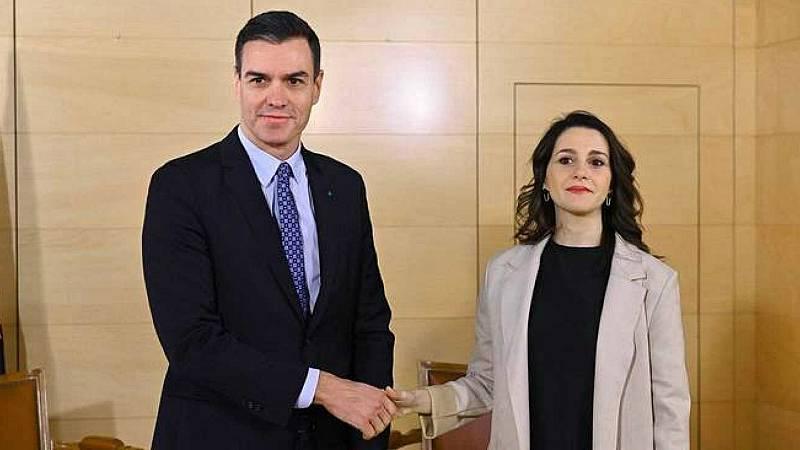 Las mañanas de RNE con Íñigo Alfonso - Ciudadanos votará a favor de la nueva prórroga del estado de alarma - Escuchar ahora