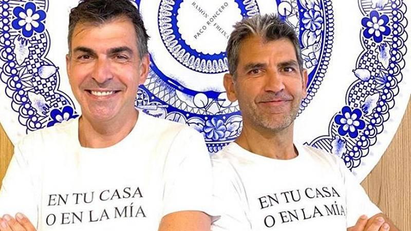 Por tres razones - 'Cuatromanos', la cocina de Paco Roncero y Ramón Freixa a domicilio - Escuchar ahora