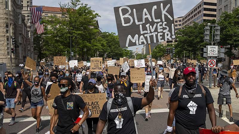 24 horas - Las protestas por la muerte de George E-Floyd, de EE.UU. al mundo - Escuchar ahora