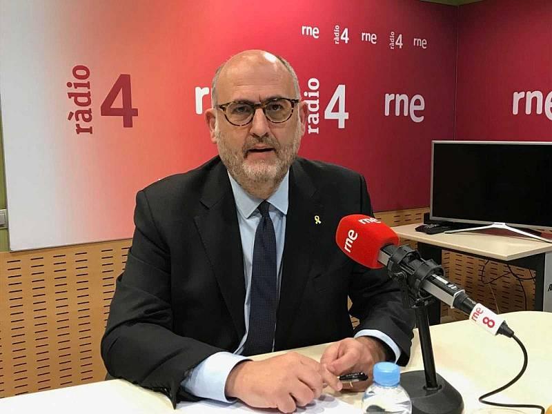 """Eduard Pujol: """"Eleccions? Tot el govern està fent front a l'emergència socio-econòmica. El govern funciona"""""""