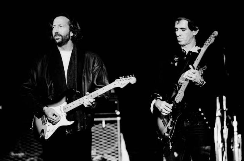 Saltamontes - Keith Richards, Ry Cooder y Eric Clapton - 04/06/20 - escuchar ahora