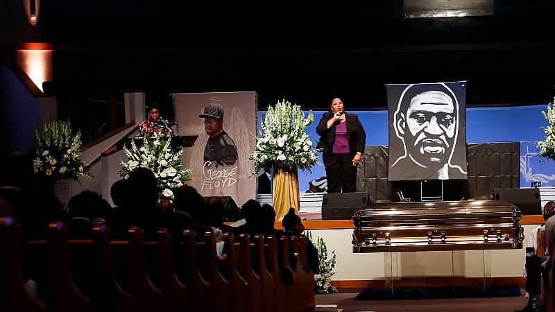 24 horas - Houston despide a Floyd en un funeral multitudinario - Escuchar ahora