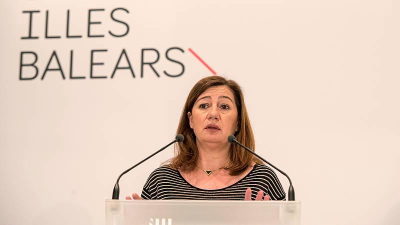 """Las mañanas de RNE con Íñigo Alfonso - Armengol reclama al Gobierno """"un plan económico especial"""" para Baleares por la caída del turismo - Escuchar ahora"""