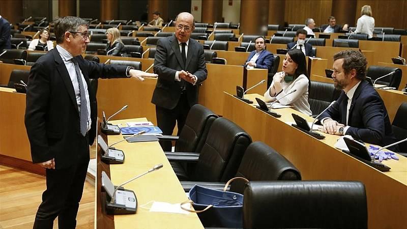 Para que veas - La ONCE pide en el Congreso de los Diputados una reconstrucción social basada en el empleo - 10/06/20 - Escuchar ahora