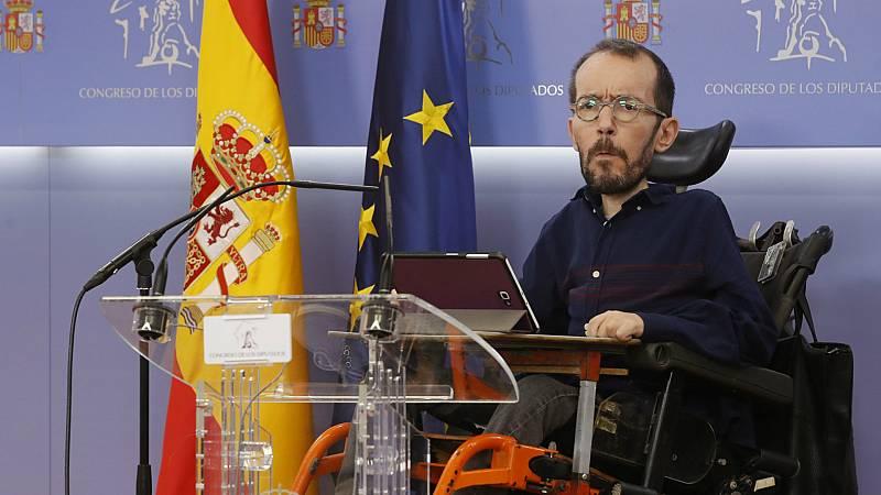 14 horas - Unidas Podemos pide que el Congreso investigue los negocios del rey Juan Carlos desde que abdicó - Escuchar ahora