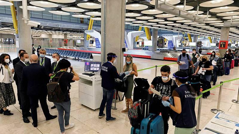 24 horas fin de semana - 20 horas - El 21 de junio España abre sus fronteras a Schengen y sólo queda excluida Portugal - Escuchar ahora