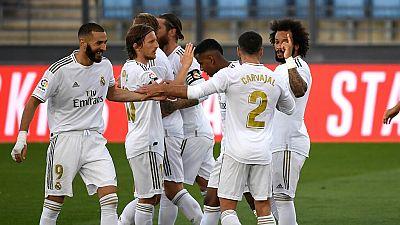 Tablero deportivo - El Real Madrid sigue la estela del F.C. Barcelona - Escuchar ahora