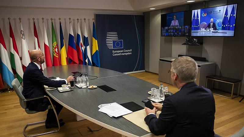 Las mañanas de RNE con Íñigo Alfonso - Los líderes de la UE comienzan a debatir el fondo de reconstrucción que propone Bruselas - Escuchar ahora