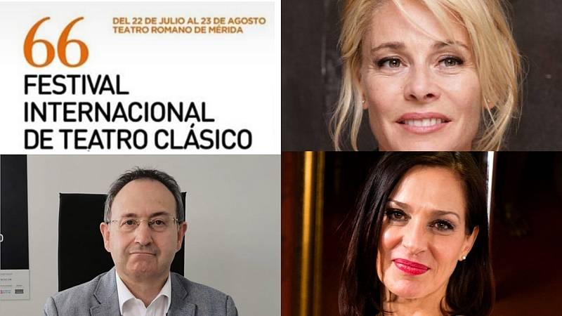 La sala - Avazamos el Festival de Mérida con Jesús Cimarro, Natalia Millán y Belén Rueda - 19/06/20 - Escuchar ahora