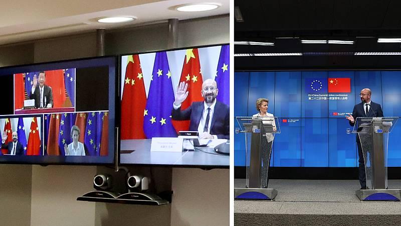 Cinco continentes - China, socio y rival de la UE - Escuchar ahora