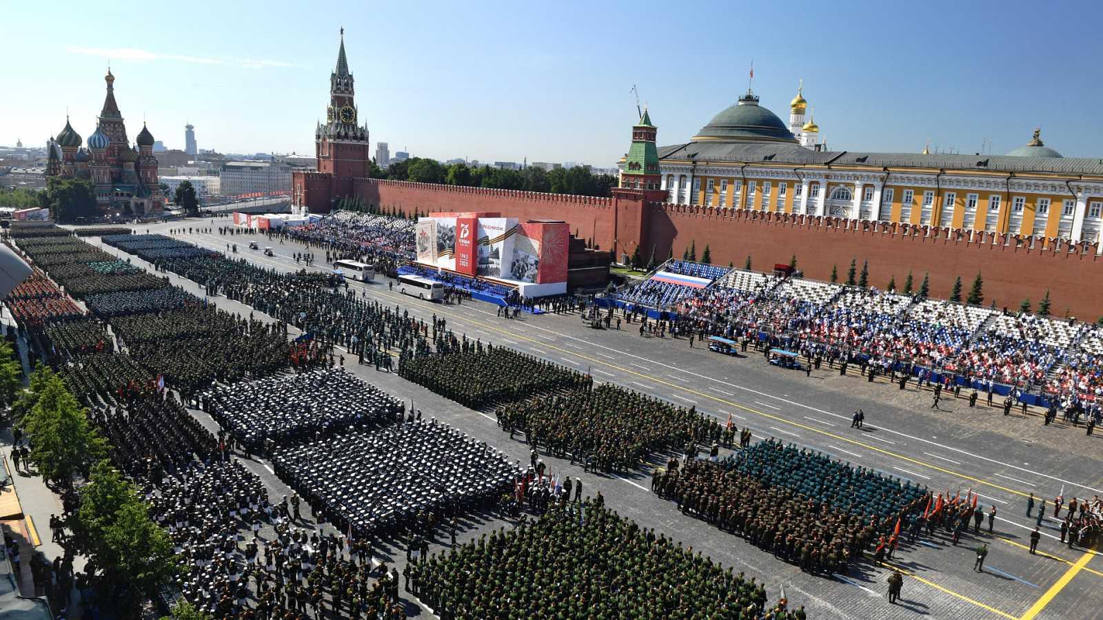 Cinco continentes - Rusia: el Día de la Victoria, en pandemia - Escuchar ahora