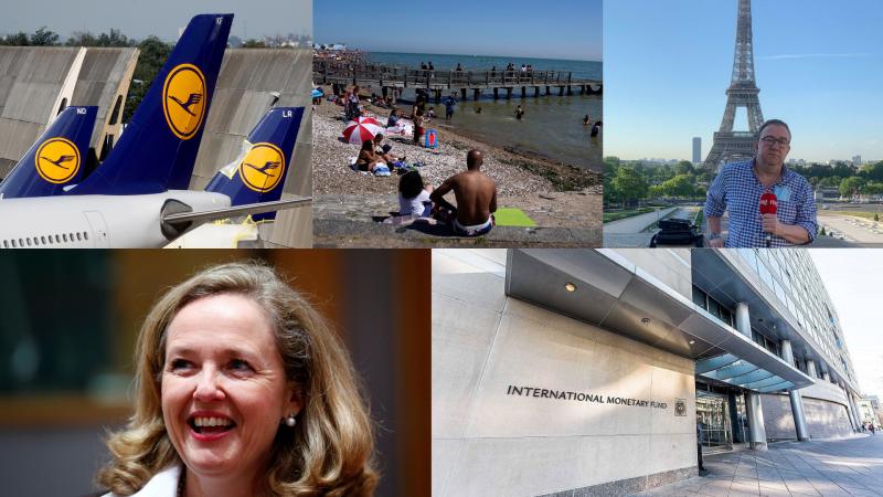 Crónica Internacional - La vicepresidenta Calviño, candidata para presidir el Eurogrupo - Escuchar ahora