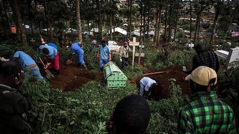 Boletines RNE - El Congo da por terminada la epidemia de ébola que sufría desde 2018 - Escuchar ahora