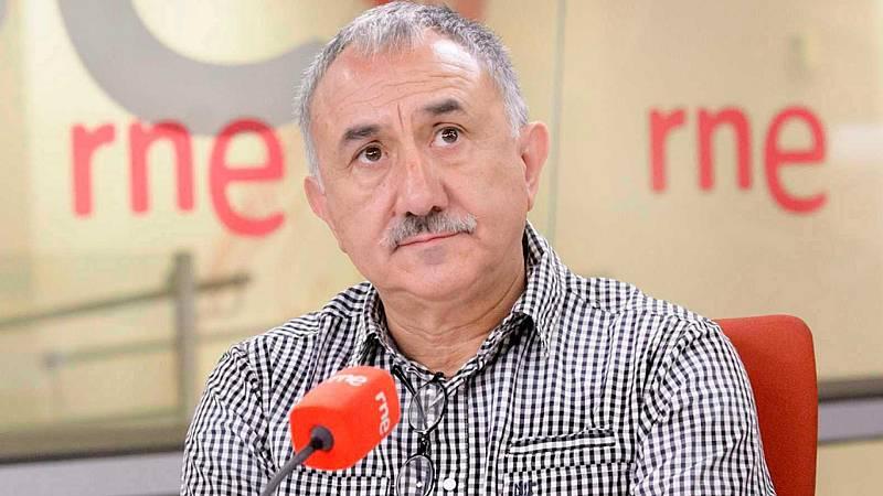 """24 horas - Pepe Álvarez (UGT): """"Era imprescindible prorrogar los ERTE"""" - Escuchar ahora"""