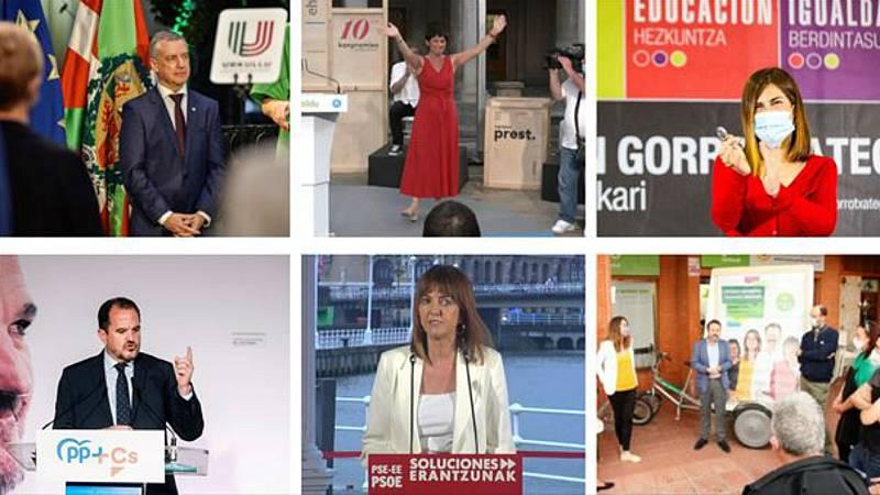 Las mañanas de RNE con Íñigo Alfonso - Arranca la campaña electoral más atípica en Euskadi - Escuchar ahora