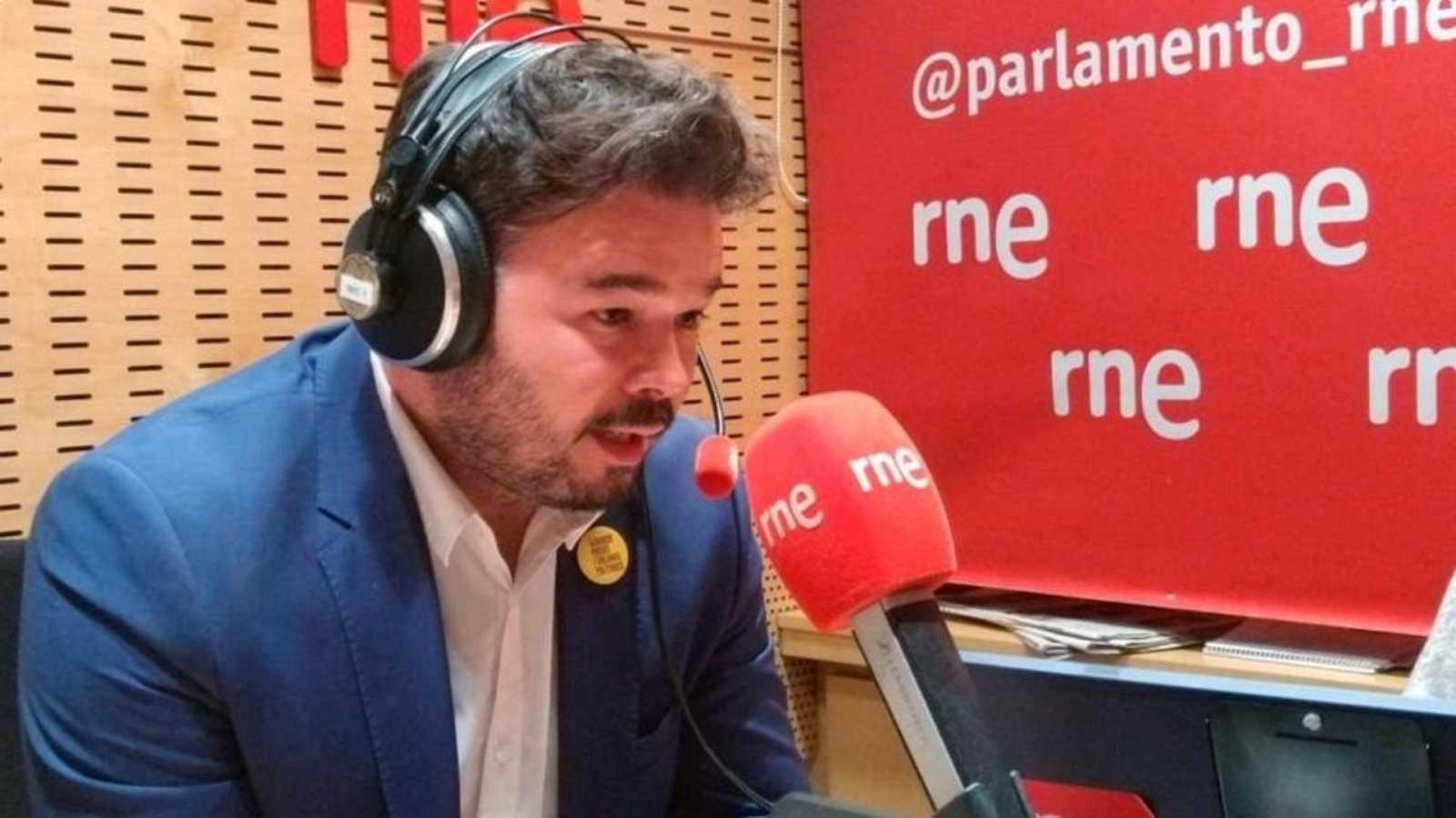 Parlamento - Radio 5 - El Rincón: Gabriel Rufián - Escuchar ahora