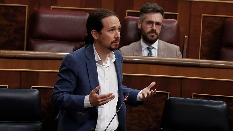 Boletines RNE - Pablo Iglesias pide ser restituído como perjudicado en el 'caso Dina' - Escuchar ahora