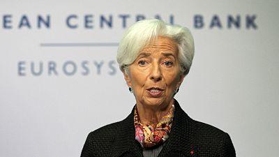 """Boletine RNE - Lagarde (BCE) cree que lo peor de la crisis """"probablemente"""" ya ha pasado - Escuchar ahora"""