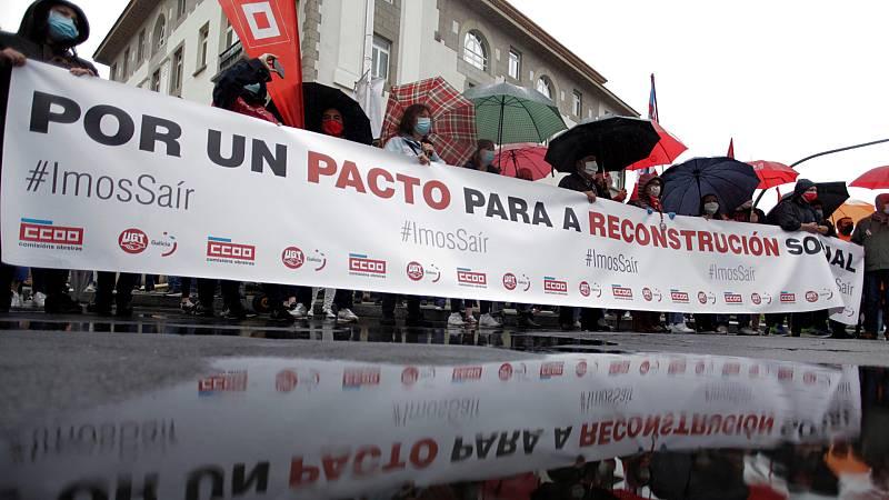 14 horas Fin de Semana - UGT y CCOO piden un gran pacto nacional para la reconstucción tras la pandemia - Escuchar ahora