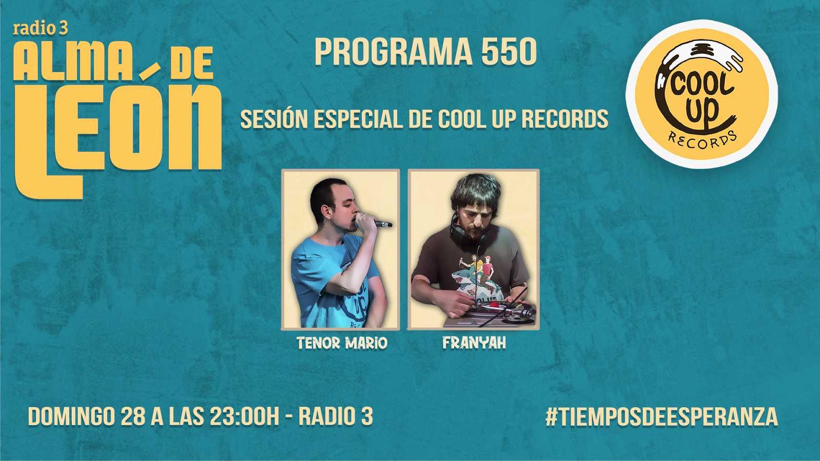 Alma de león - Sesión COOL UP RECORDS: En el Coronil saben lo que hacen - 28/06/20 - escuchar ahora