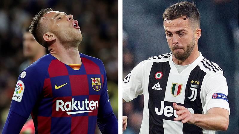Boletines RNE - Trueque Barcelona-Juventus: Arthur se va a Turín, Pjanic al Barça - Escuchar ahora