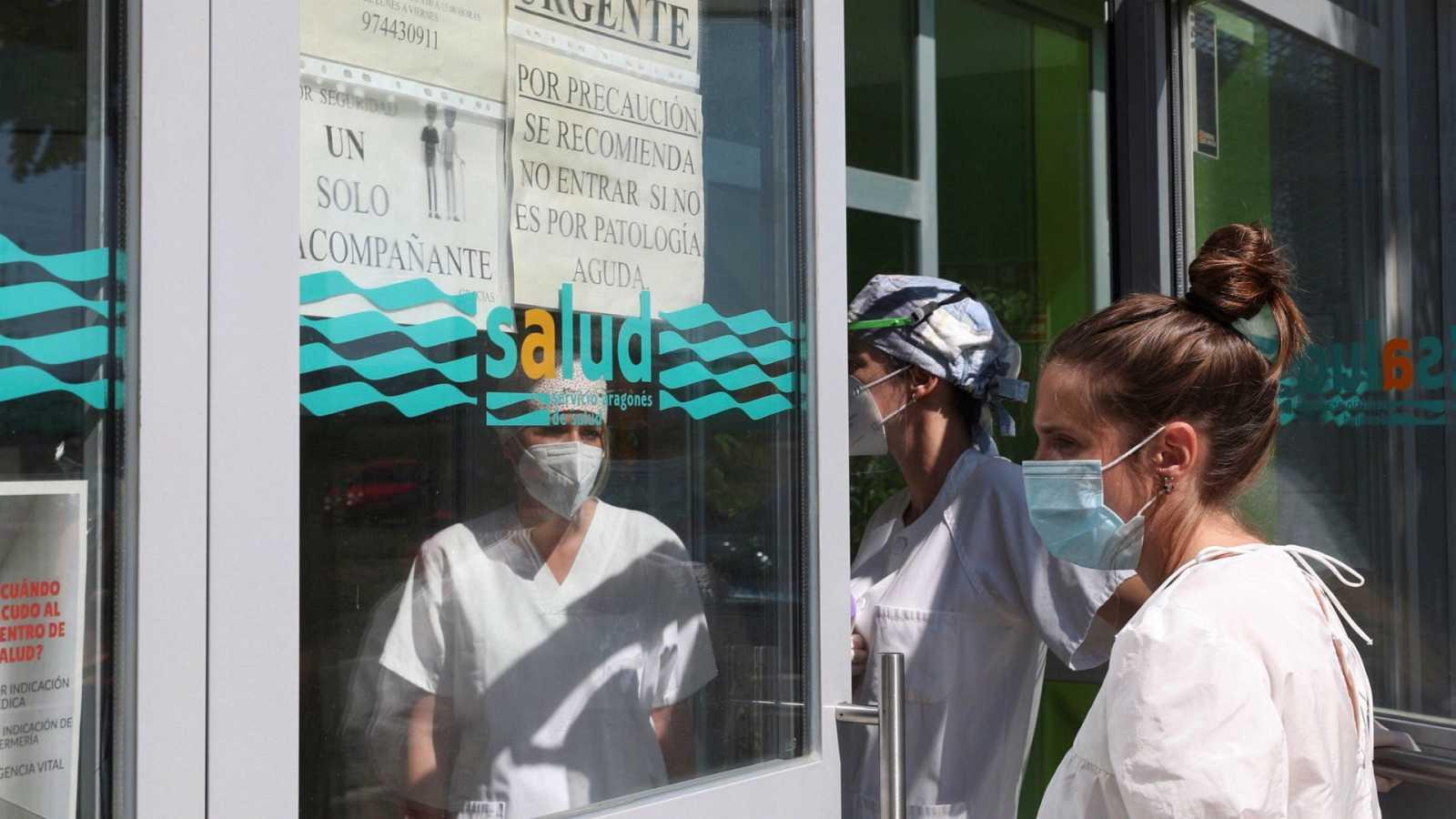 14 horas - El mapa de los rebrotes en España: 15 comunidades con focos de coronavirus - Escuchar ahora