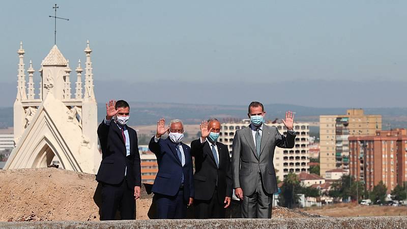 14 horas - España y Portugal escenifican la reapertura de la frontera - Escuchar ahora
