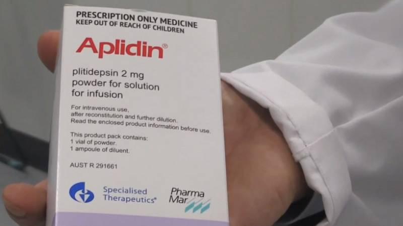 A golpe de bit - El antitumoral Aplidin en la lucha contra el COVID-19 - 01/07/20