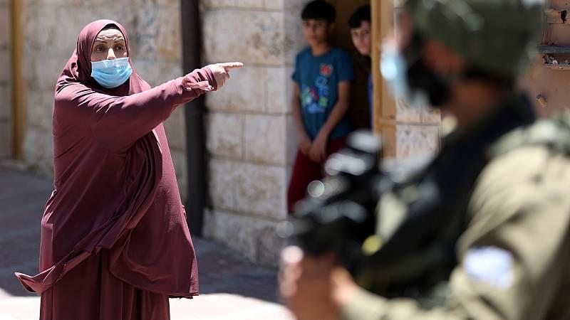 Boletines RNE - Vuelve el confinamiento a los territorios palestinos ocupados - Escuchar ahora