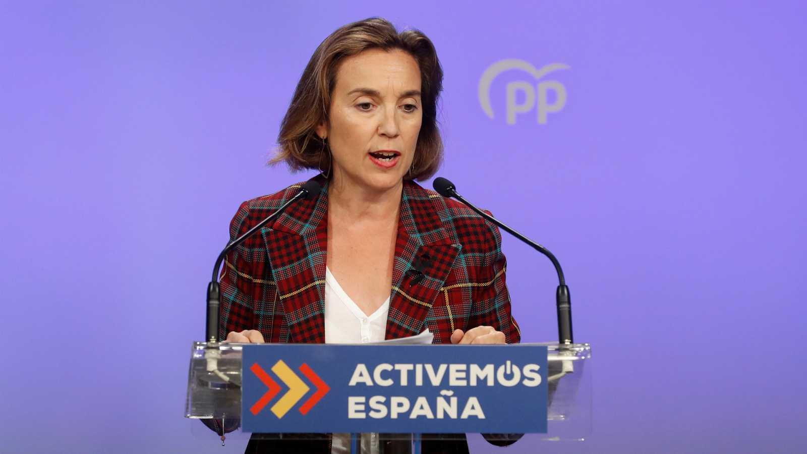 """Las mañanas de RNE con Íñigo Alfonso - Cuca Gamarra: """"El Gobierno intenta aprovechar una situación de emergencia para asfixiar a la educación concertada"""" - Escuchar ahora"""