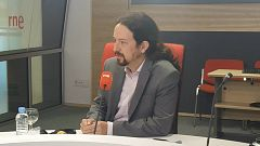 """Las mañanas de RNE con Íñigo Alfonso - Pablo Iglesias no contempla dimitir por el 'caso Dina': """"Intentan tumbar al Gobierno y que los responsables de las cloacas se vayan de rositas"""""""