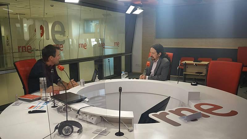 """Las mañanas de RNE con Íñigo Alfonso - Iglesias: """"El bloque de investidura va a ser el bloque de los presupuestos"""" - Escuchar ahora"""