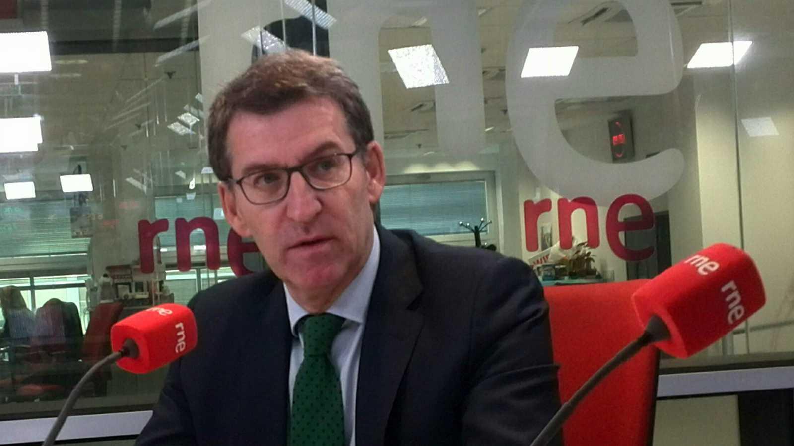 """Las mañanas de RNE con Íñigo Alfonso -  Feijóo: """"Necesito a los votantes del PSOE""""  - Escuchar ahora"""